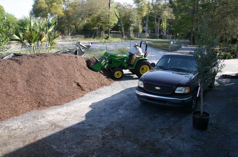 Potting Soil Pile