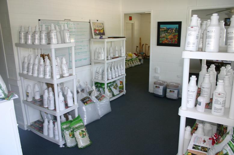 Store Showroom taken from front door 6-29-12